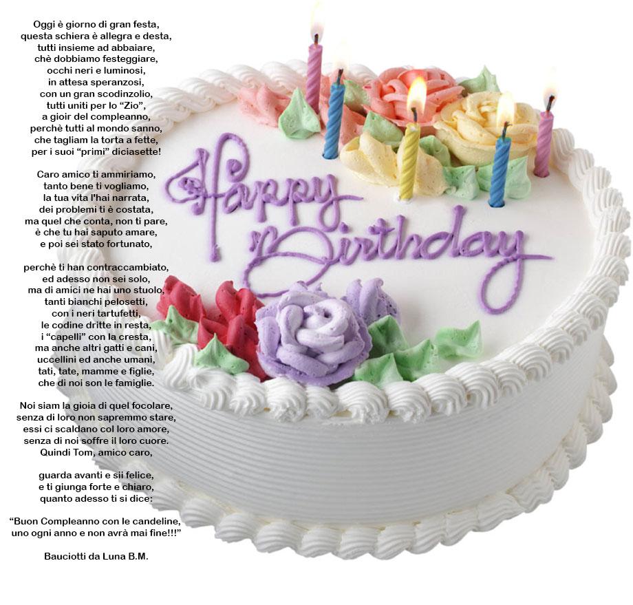Auguri Buon Compleanno 53 Anni.B U O N C O M P L E A N N O Zio Tommy